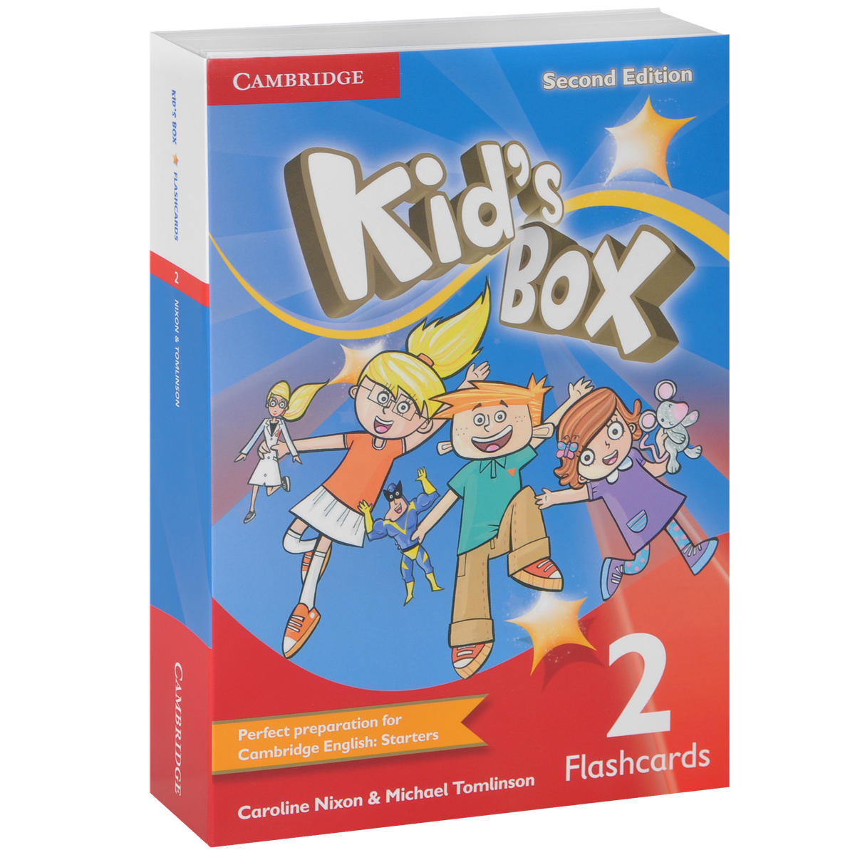Kid's Box: Level 2: Flashcards (набор из 103 карточек) my first english adventure 2 starter flashcards набор из 22 карточек