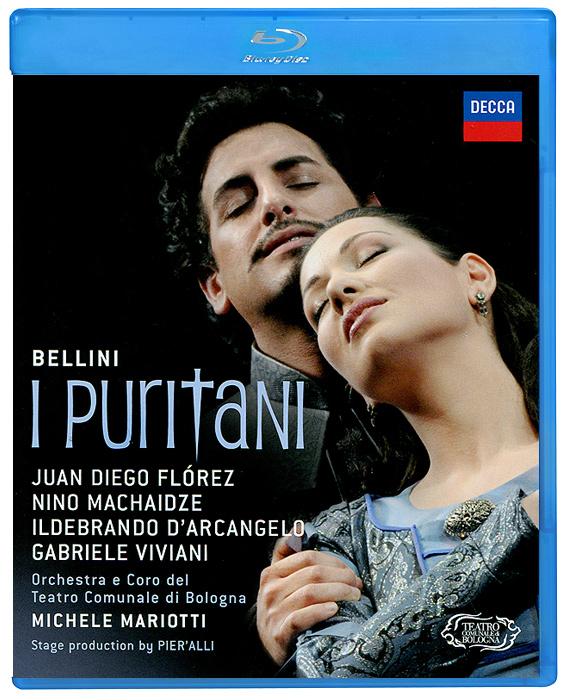 Michele Mariotti, Bellini: I Puritani (Blu-ray) michele mariotti rossini matilde di shabran neapolitan version 1821 blu ray
