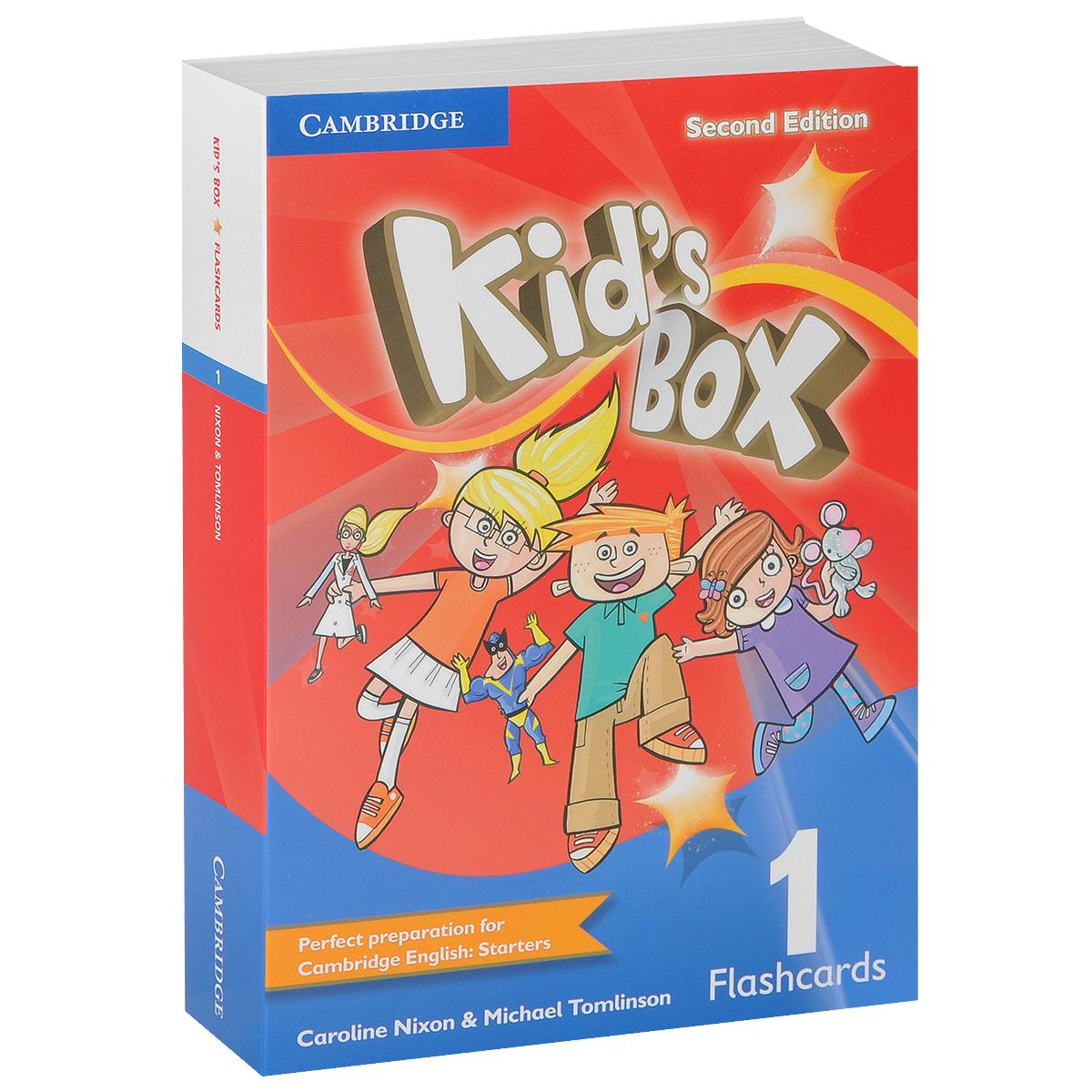 цена на Kid's Box: Level 1: Flashcards (набор из 96 карточек)