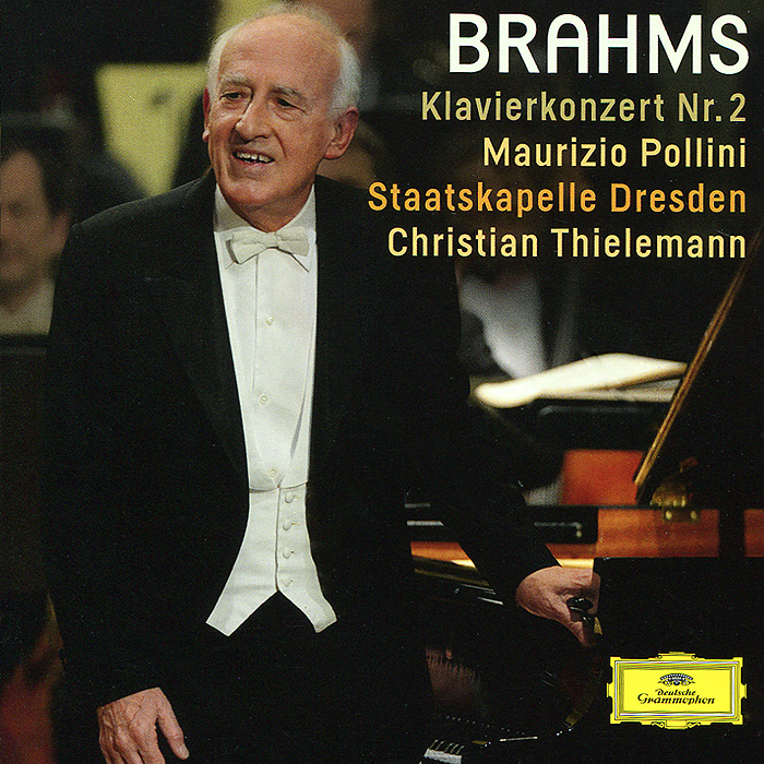 Маурицио Поллини,Staatskapelle Dresden,Кристиан Тильманн Maurizio Pollini, Staatskapelle Dresden, Christian Thielemann. Brahms. Piano Concerto No.2 кристиан тильманн the philadelphia orchestra christian thielemann the philadelphia orchestra wagner preludes and orchestral music