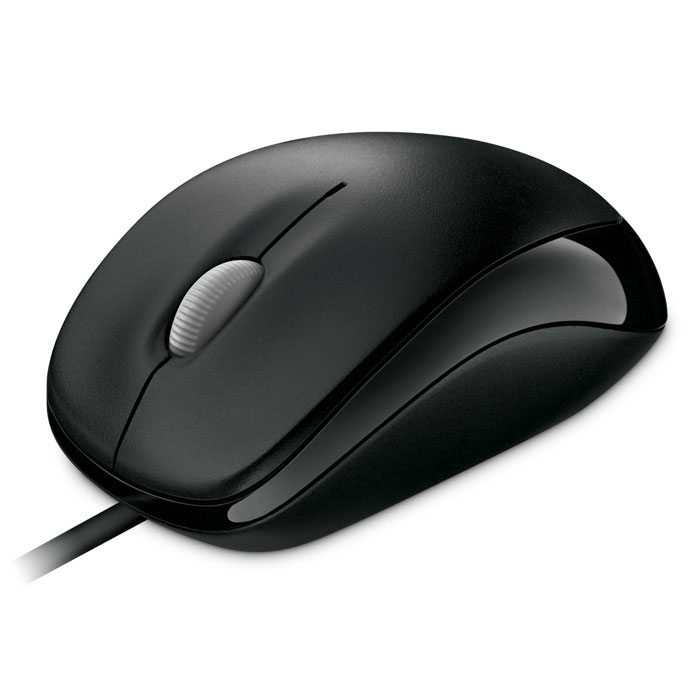 лучшая цена Мышь Microsoft Compact Optical Mouse 500, Black