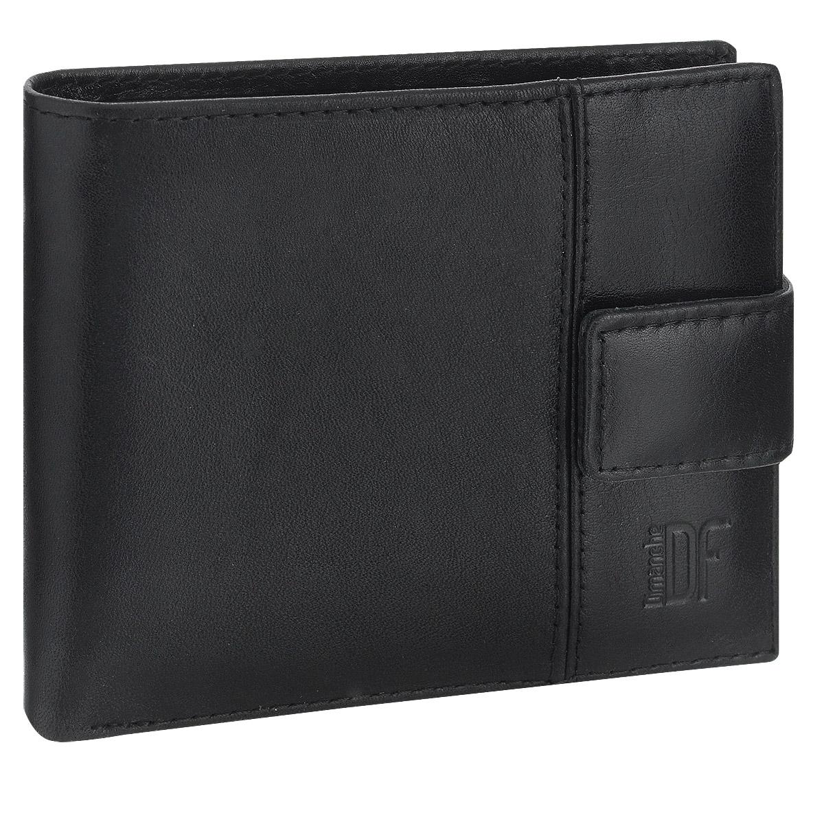 Портмоне мужское Dimanche Classic, цвет: черный. 894 портмоне мужское cangurione цвет черный 1214 001 v black