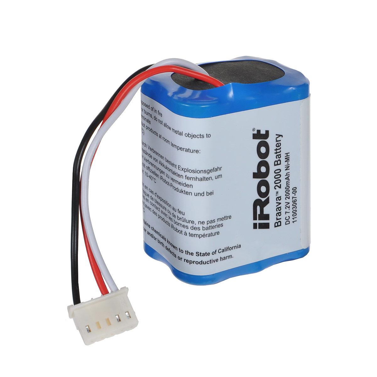 цена на iRobot аккумуляторная батарея NiMH для Braava 380/390t
