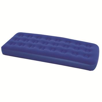Матрас надувной Bestway, флокированный, цвет: синий, 191 х 137 х 22 см. 67002