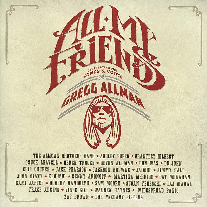 лучшая цена Gregg Allman. All My Friends (2 CD)