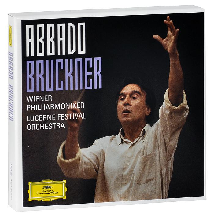 Lucerne Festival Orchestra,Клаудио Аббадо,Wiener Philharmoniker Claudio Abbado. Bruckner (5 CD) mahler debussy abbado lucerne festival orchestra 2 cd