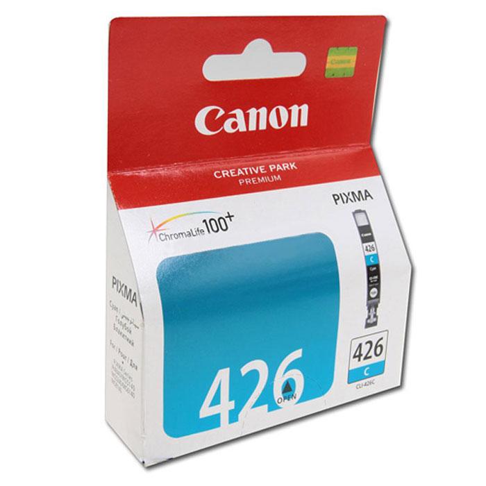 Картридж Canon CLI-426C, голубой, для струйного принтера, оригинал