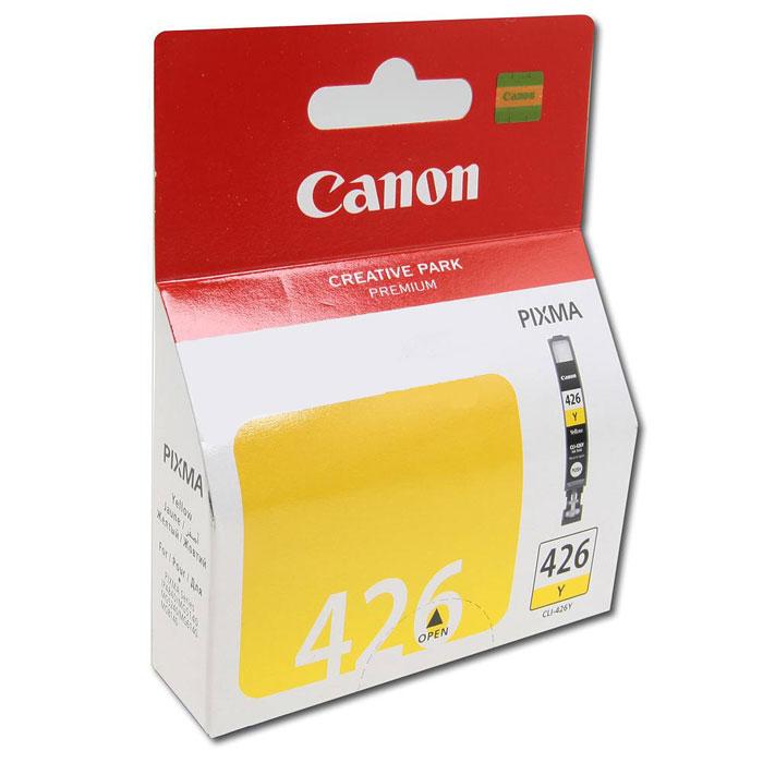 Картридж Canon CLI-426Y, желтый, для струйного принтера, оригинал