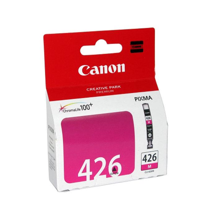 Картридж Canon CLI-426M, пурпурный, для струйного принтера, оригинал