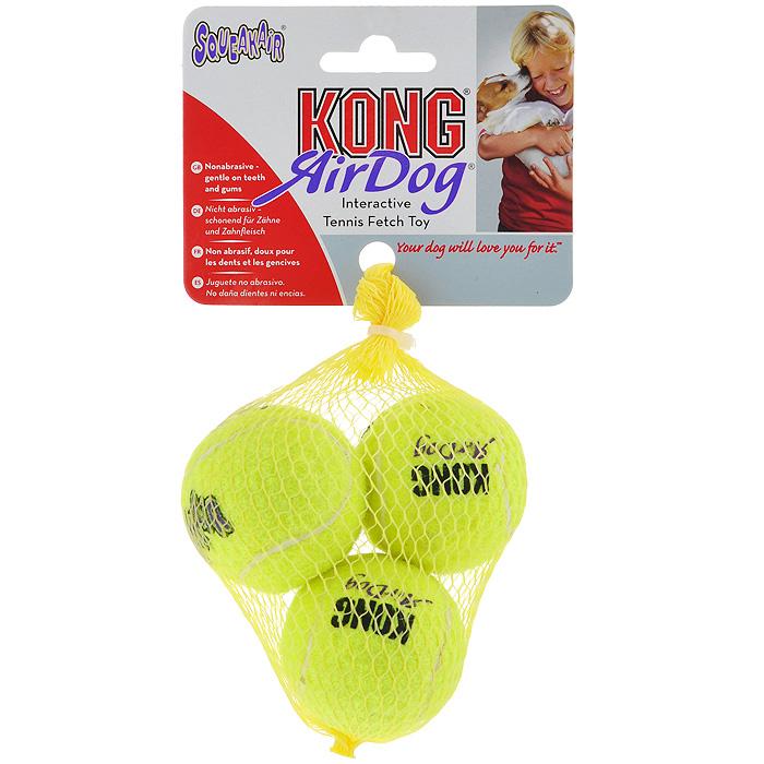 Игрушка для собак Air Теннисный мяч, 3 шт. AST3 игрушка для собак kong air теннисный мяч очень маленький