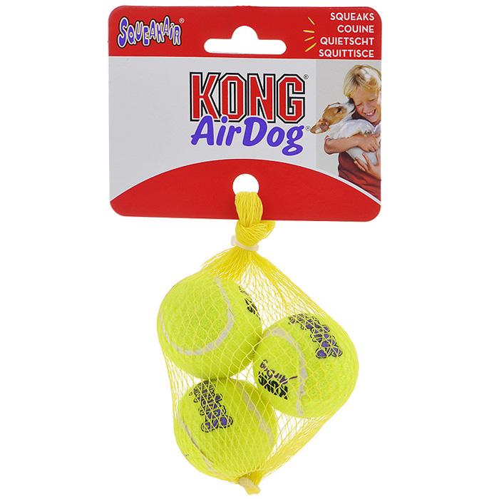Игрушка для собак Air Теннисный мяч, 3 шт. AST5E игрушка для собак kong air теннисный мяч очень маленький
