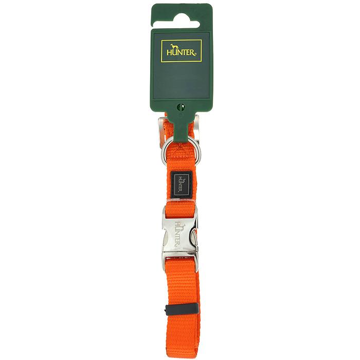 Ошейник для собак Hunter Smart ALU-Strong M, цвет: оранжевый hunter smart hunter ошейник для собак alu strong paisley m 40 55 см нейлон с металлической застежкой мотив индийские огурцы