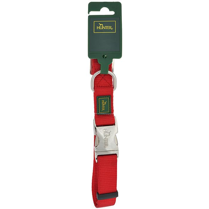 Ошейник для собак Hunter Smart ALU-Strong L, цвет: красный ошейник для собак hunter alu strong l нейлон оранжевый 45 65см