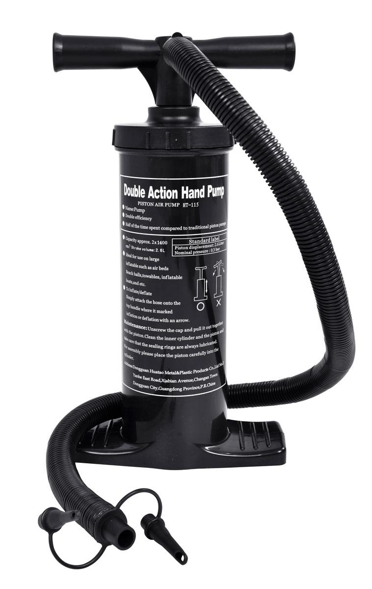 Насос ручной Jilong Double Action, двухходовой, 40 см насос ручной relax double action heavy duty pump
