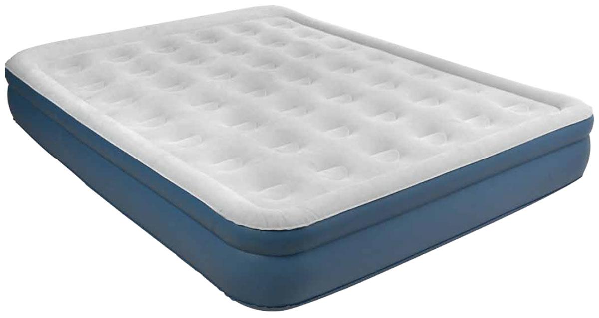 """Кровать надувная Jilong """"QUEEN"""" с электрическим насосом, 203 х 157 х 38 см"""