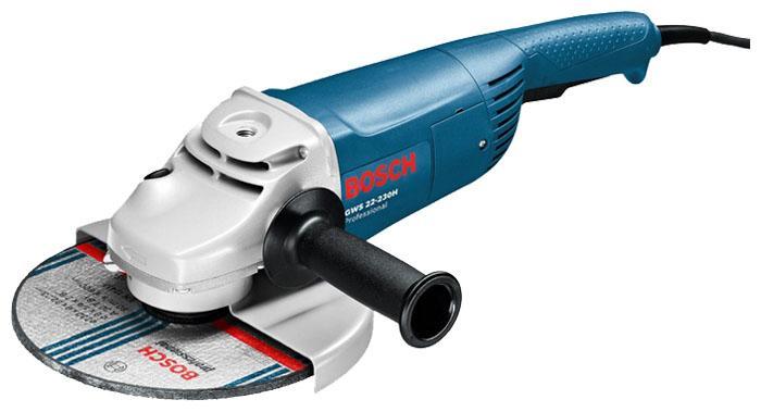 Угловая шлифмашинa Bosch GWS 22-230 H 601882103 Professional угловая шлифмашина bosch gws 20 230 h professional
