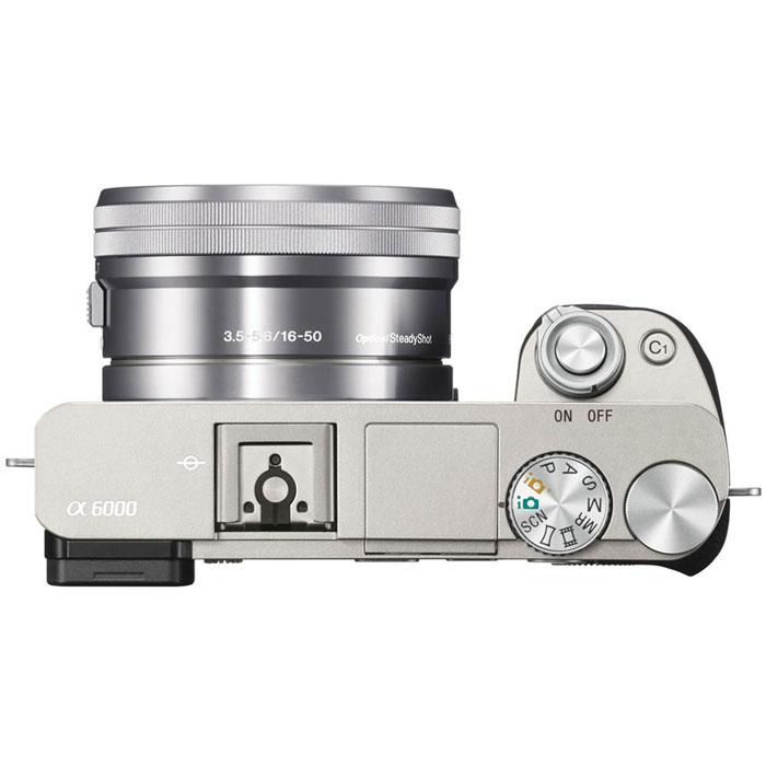 Беззеркальный фотоаппарат Sony Alpha A6000 Kit 16-50 mm, Silver Sony