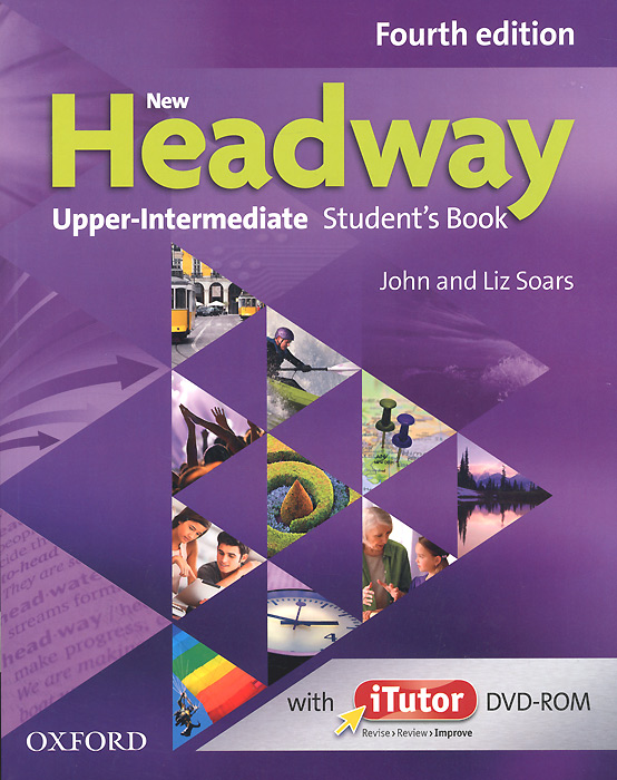 New Headway: Upper-intermediate: Student's Book (+ DVD-ROM) market leader upper intermediate course book dvd rom