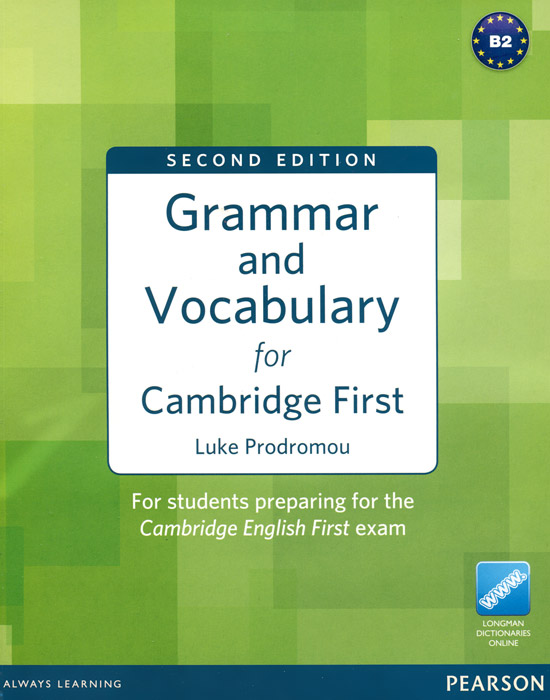 Grammar and Vocabulary for Cambridge First side r grammar and vocabulary for cambridge advanced and proficiency w key