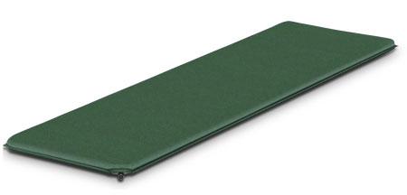 Коврик самонадувающийся Alexika Trekking 60, цвет: оливковый. 9333.3807 коврик туристический самонадувающийся двуспальный larsen camp ht012