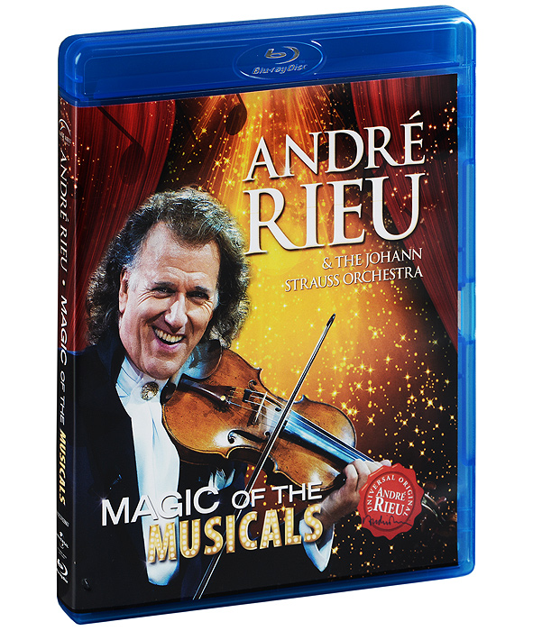 Andre Rieu & The Johann Strauss Orchestra: Magic Of The Musicals (Blu-ray) andre rieu the best of live