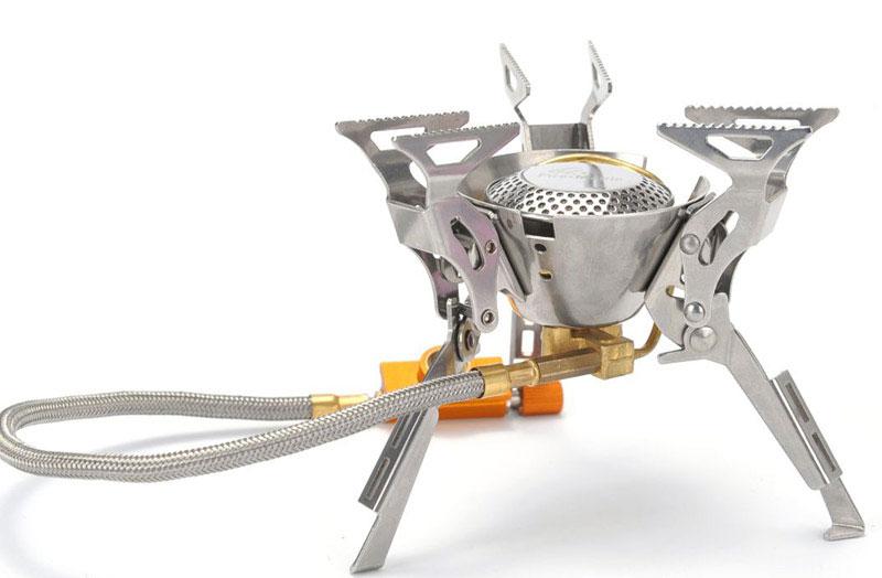Газовая горелка Fire-Maple, cо шлангом и системой