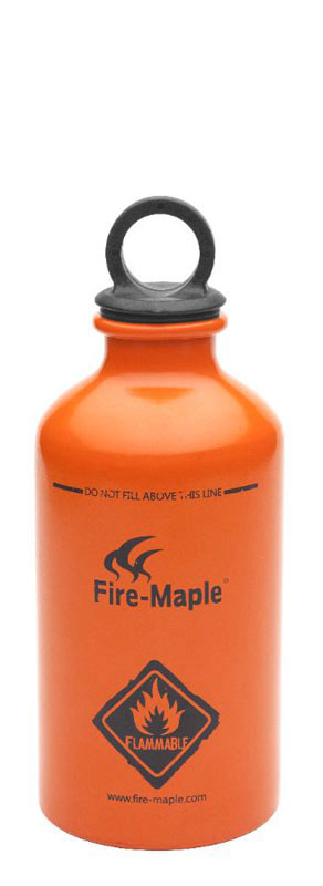 Емкость для топлива Fire-Maple, алюминиевая, 0.33 л. FMS-B330 картридж газовый fire maple fms g2 230 г