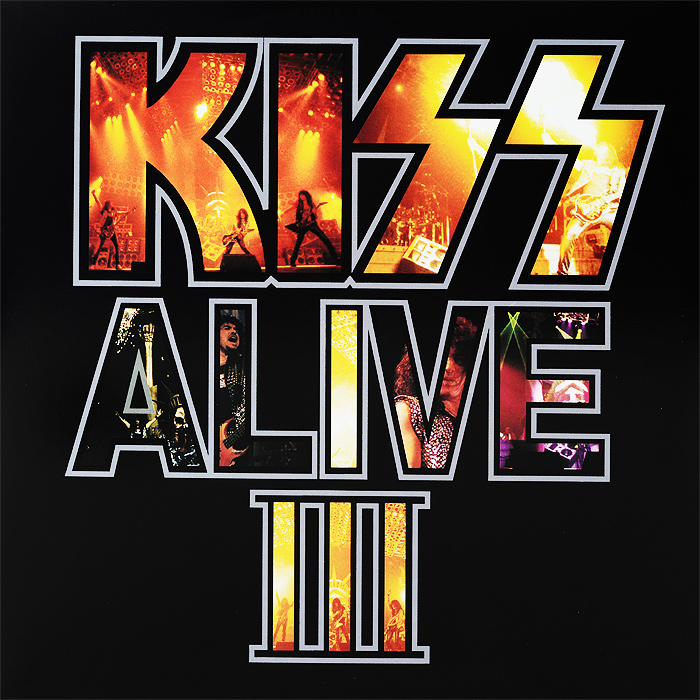 Kiss Kiss. Alive III (2 LP) кендрик ламар kendrick lamar damn 2 lp