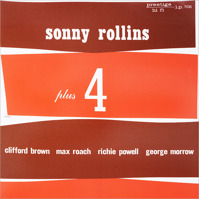 Сонни Роллинз,Клиффорд Браун,Макс Роуч,Ричи Пауэлл,Джордж Морроу Sonny Rollins. Plus Four (LP) сонни роллинз орнэт коулмен рой харгрув джим холл рассел мэлоун sonny rollins road shows vol 2