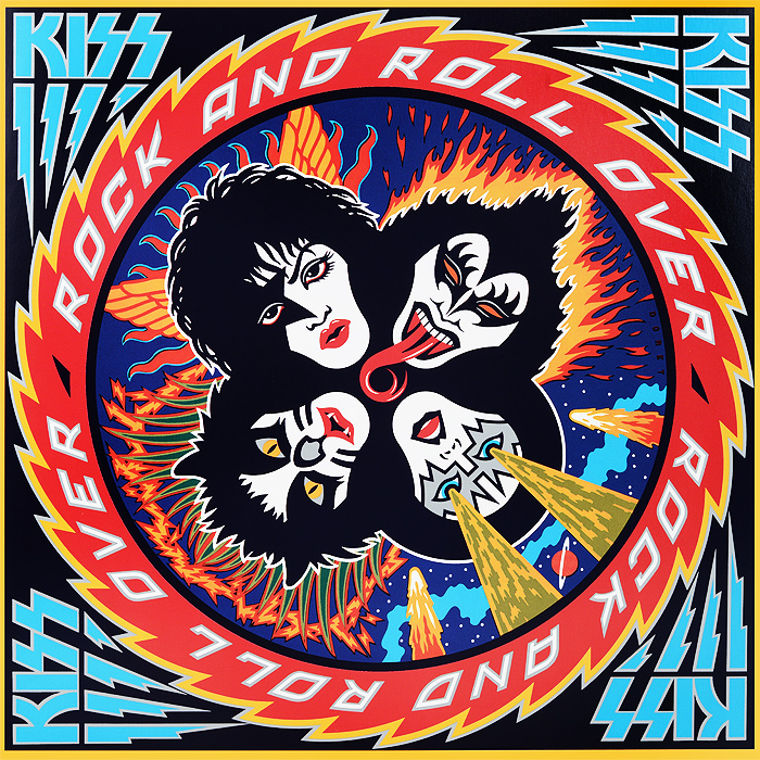 Kiss Kiss Rock And Roll Over LP