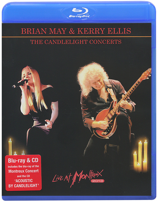 Brian May & Kerry Ellis: The Candlelight Concerts. Live At Montreux 2013 (Blu-ray + CD) brian ogawa a river to live by the 12 life principles of morita therapy