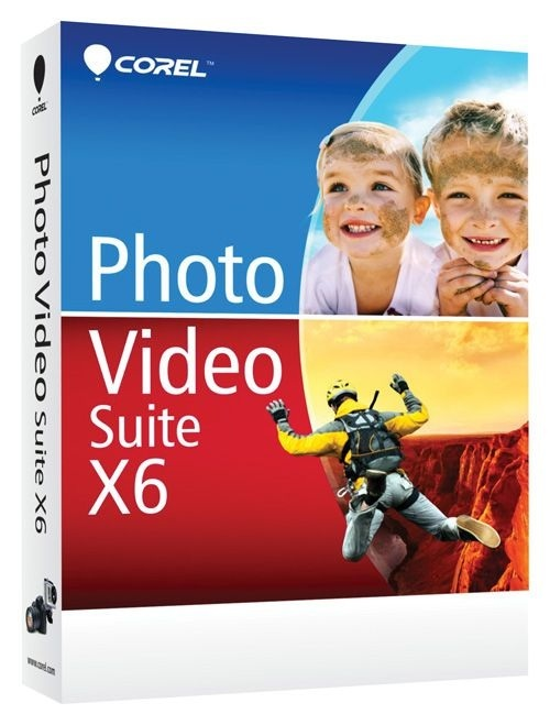 Corel Photo Video Suite X6 видео