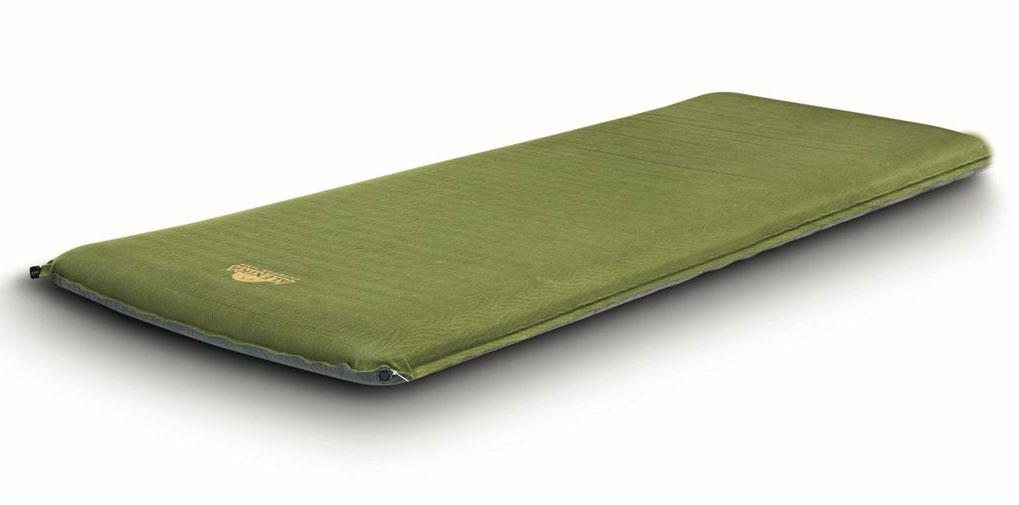 Коврик самонадувающийся Alexika Grand Comfort, цвет: оливковый. 9372.0007