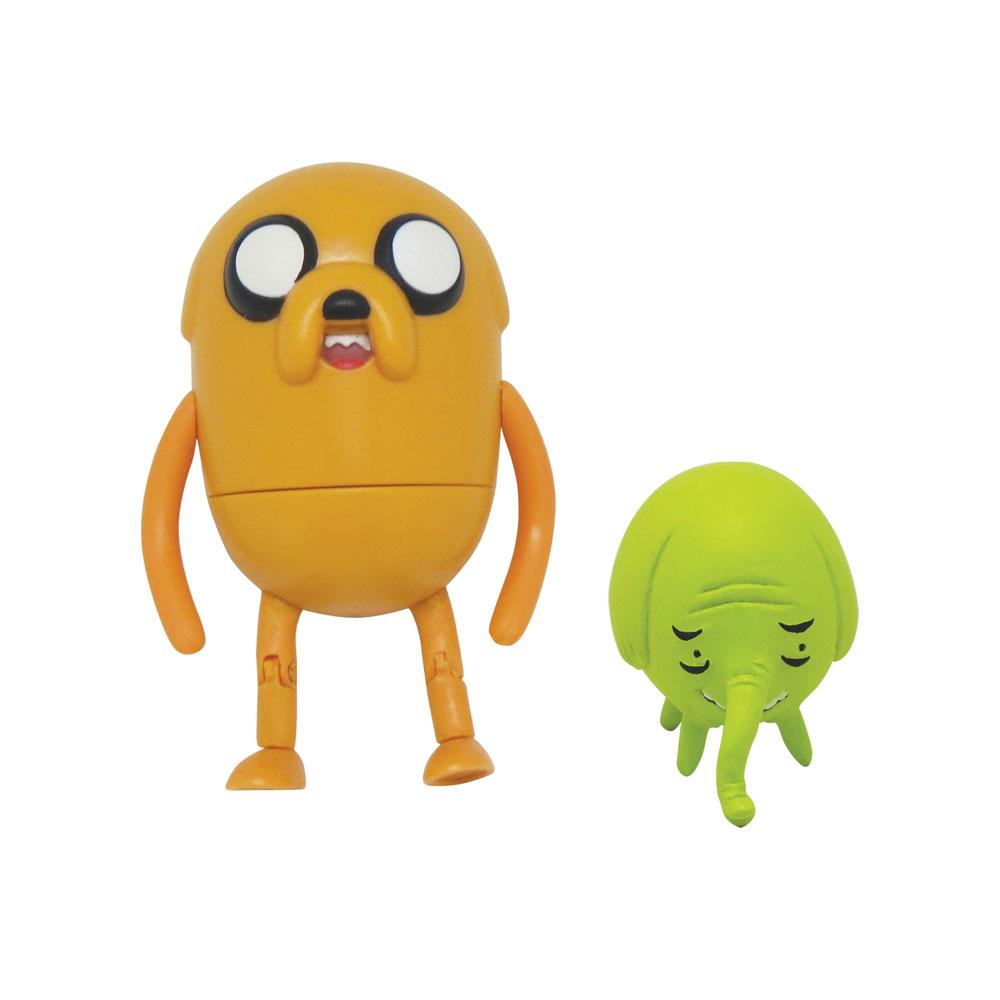 Фигурки Adventure Time Jake & Tree Trunks, 2 шт майка print bar джейк adventure time