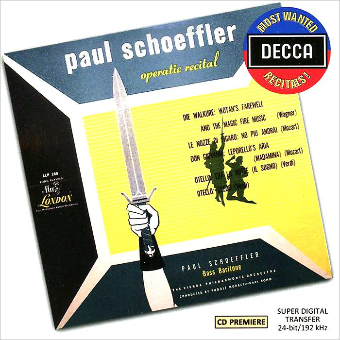 Пол Шоффлер,Wiener Philharmoniker Operatic Recital By Paul Schoffler флавиано лабо an operatic recital by flaviano labo
