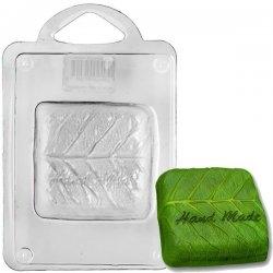 Форма для литья Квадратный лист, 16 х 11 х 2,5 см форма для литья танк пластиковая 16 х 11 х 2 5 см