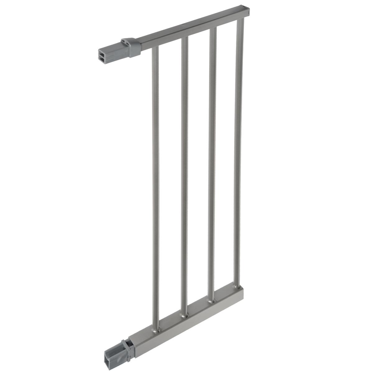 Дополнительная секция к защитным воротам Lindam Sure Shut, цвет: серебристый, 28 см ворота lindam
