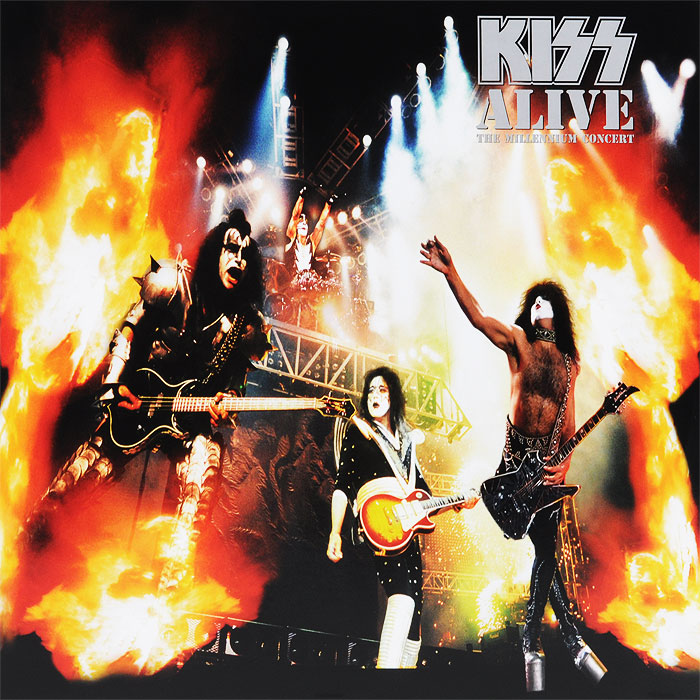 Kiss Kiss. Alive. The Millennium Concert (2 LP) виниловая пластинка kiss alive the millenium concert