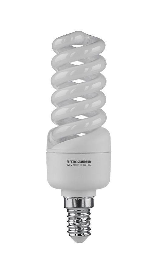 Elektrostandard лампа энергосберегающая Микро винт, теплый свет, цоколь Е14, 15W