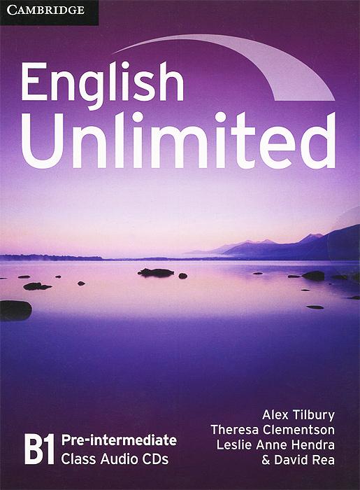 English Unlimited: Pre-intermediate B1 (аудиокурс на 3 CD) cosmic level b1 use english tg