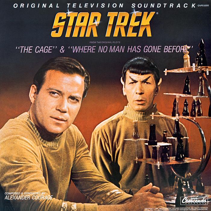 Алехандер Куредж Star Trek. The Cage / Where No Man Gone Before. Original Television Soundtrack (LP) алехандер куредж star trek the cage where no man gone before original television soundtrack