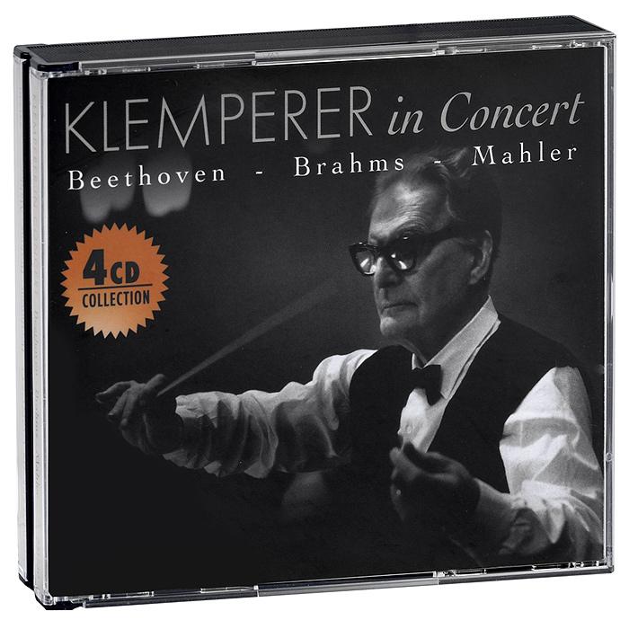 Klemperer In Concert. Beethoven / Brahms / Mahler (4 CD)