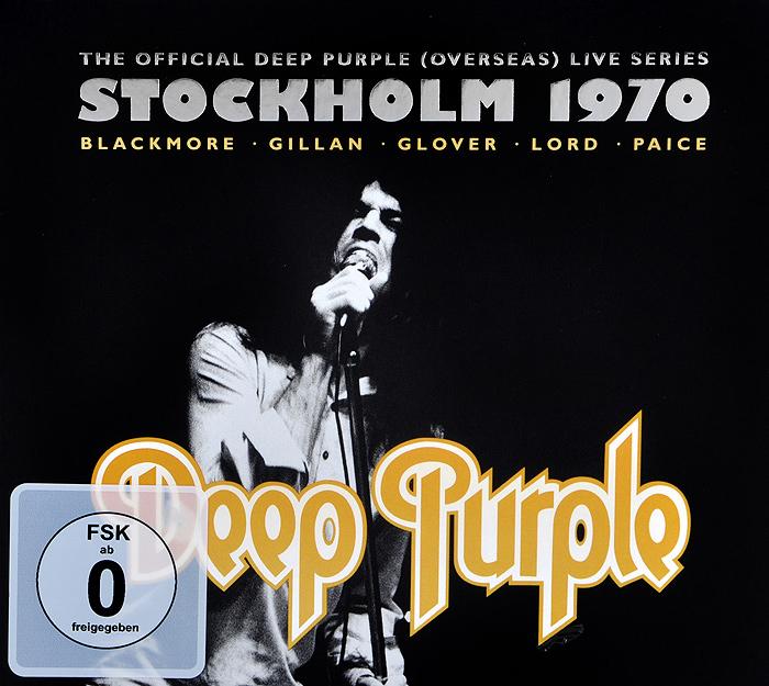 Deep Purple Deep Purple. Live In Stockholm 1970 (2 CD + DVD) vier promille ein letzter gruss live in leipzig 2007 dvd 2 cd