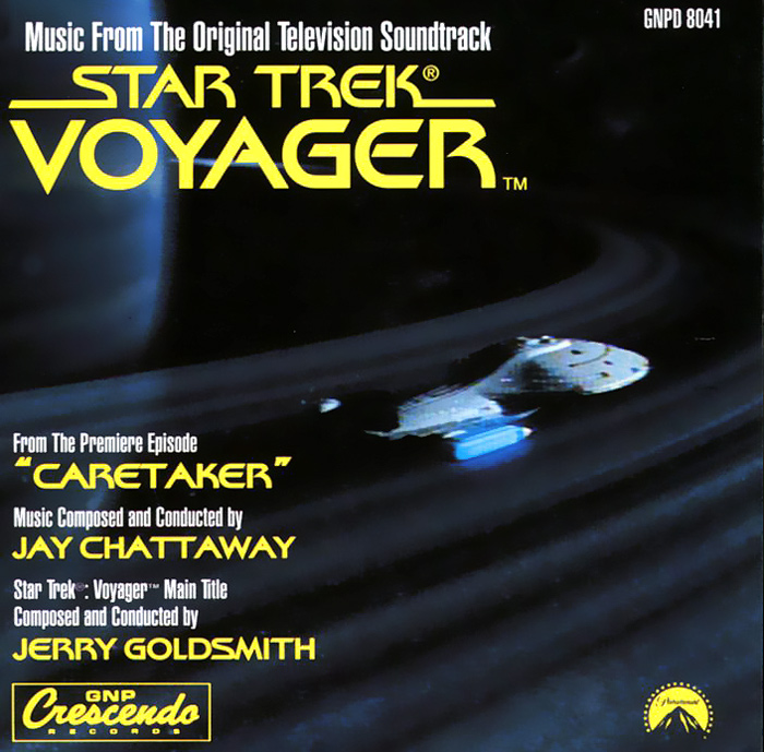 Джерри Голдсмит Star Trek. Voyager. Music From The Original Television Soundtrack алехандер куредж star trek the cage where no man gone before original television soundtrack