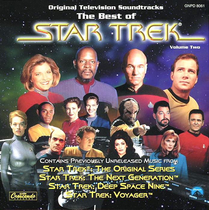 The Best Of Star Trek. Volume Two. Original Television Soundtracks алехандер куредж star trek the cage where no man gone before original television soundtrack