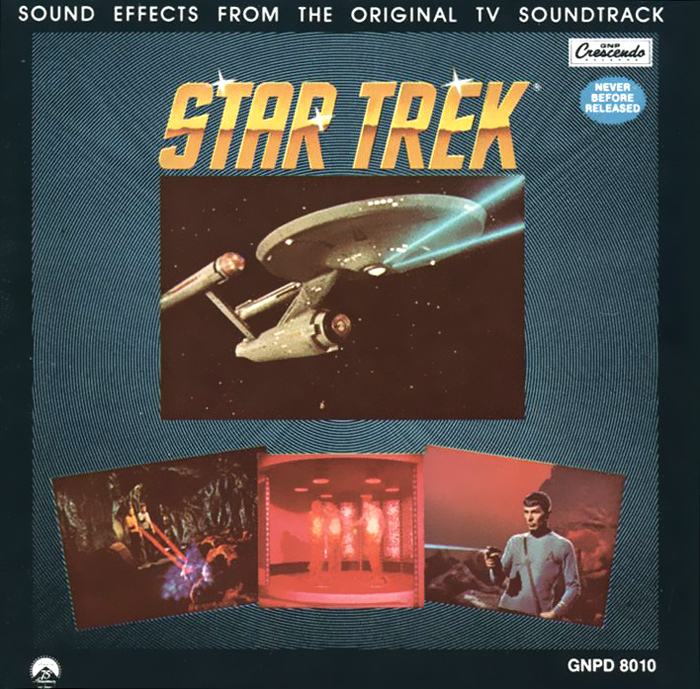 Star Trek. Sound Effects From The Original TV Soundtrack недорого