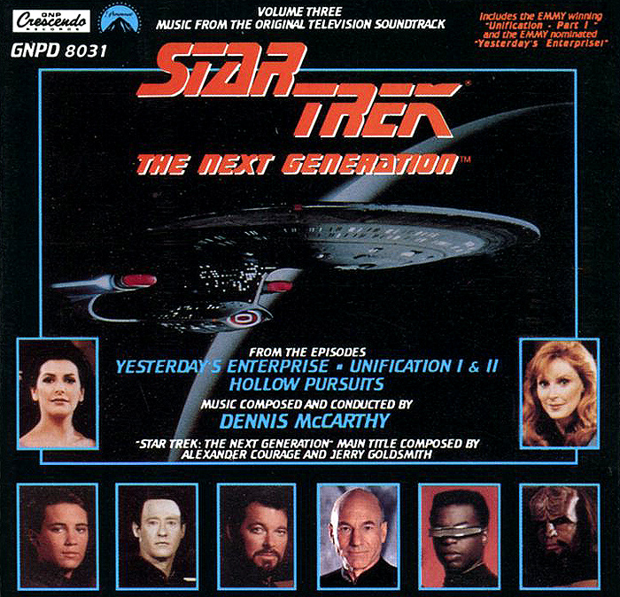 Star Trek. The Next Generation. Volume Three white o generation next