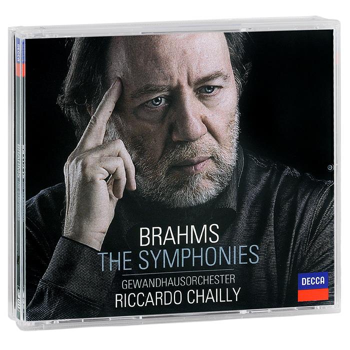 Gewandhausorchester Leipzig,Риккардо Шайи Gewandhausorchester, Riccardo Chailly. Brahms. The Symphonies (3 CD) a dreyschock 3 andante et 4 impromptus caracteristiques op 3
