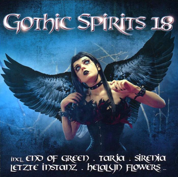End Of Green,Тарья Турунен,Sirenia,Visions Of Atlantis,Elysion,Letzte Instanz,Helalyn Flowers,Arven,Coronatus,Frozen Plasma Gothic Spirits 18 (2 CD) цена
