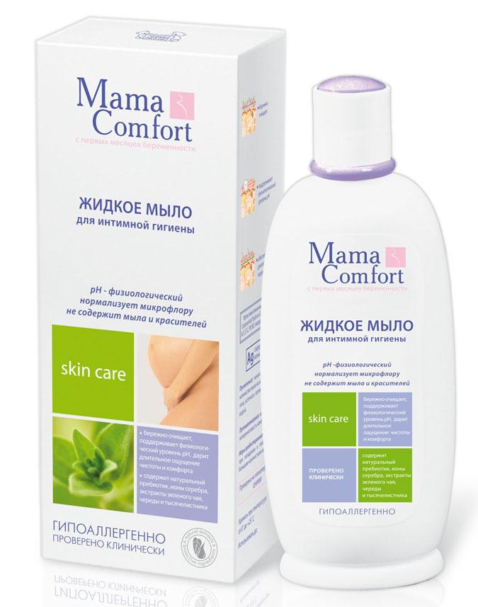 Мыло жидкое Mama Comfort для интимной гигиены, 250 мл evo жидкое мыло для интимной гигиены для чувствительной кожи 200 мл
